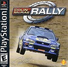 Colin McRae Rally (Sony PlayStation 1, 2000) PS1 NTSC GAME BRAND NEW!!!