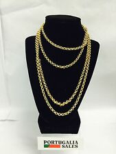 "Portuguese Costume Jewlery accessories ""Necklace"" Gold in Color N.2"