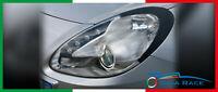 adesivi auto alfa romeo giulietta sticker decal palpebre fari tuning carbon look