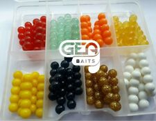 200 Pcs Salmon Eggs 8mm Soft Lures Box  Soft Fishing Bait