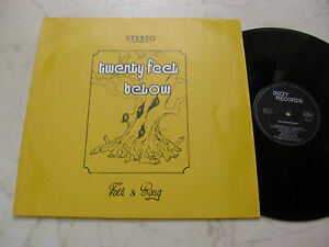 Twenty Feet Below Folk & Song German Private Press 1972