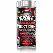 Muscletech Hydroxycut Hardcore Next Gen Fat Burner 100 ct. Free Shipping