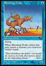 MRM FRENCH Drakôn criard - Shrieking Drake MTG magic VIS