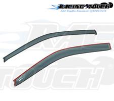 For Acura Integra 94-01 Ash Grey Out-Channel Window Visor Sun Guard 2pcs