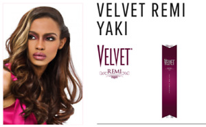 """OUTRE VELVET REMI YAKI 100% HUMAN HAIR Straight Weave Extension 10"""" to 18"""""""