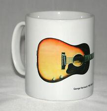 Guitar Mug. George Harrison's Gibson J-160E illustration.