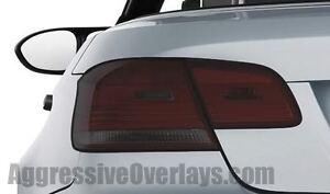 BMW 335 M3 328 Smoked Tail light Film 35% LIGHT SMOKED Tinted Vinyl Tint E92 E93