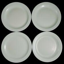 """Vtg Lot of 4 Melamine Boontonware Mint Green Dinner Plates 9"""" Round 103-9"""