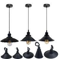 Vintage Industrial Light Shades Loft Style Metal Ceiling Pendant Lampshade Lamp