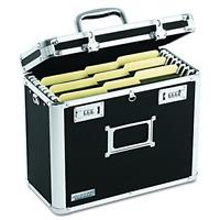 Locking Personal File Organizer Tote Box Letter Size