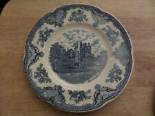 Blue Pottery Dinner Plates 1980-Now Date Range