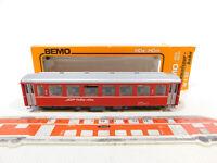 CK390-0, 5 # Bemo H0m / Dc 3261 Vagones 2. Clase B 2453 Rhb , Mint + Box