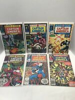 Captain America Lot  357-362 The BloodStone Hunt ( Crossbones 1st appearance)