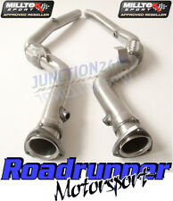 Milltek Audi S4 B7 DeCat Downpipes Exhaust Cat Replacements Manual Only SSXAU289
