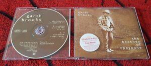 GARTH BROOKS **The Beaches Of Cheyenne** RARE CD Single W/ STICKER IN SPANISH!