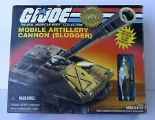GIJOE G.I.JOE GI JOE MOBILE ARTILLERY CANNON SLUGGER +  EXCLUSIVE FIGURE GUNG-HO