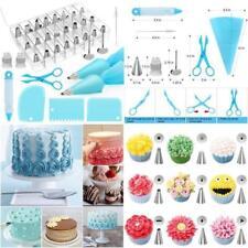 42 PCS Cake Decorating Tool Set Kit Bags Tips Pastry Bag Nozzles Baking Supplies