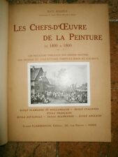 Les Chefs-d'Oeuvre de la Peinture de 1400 a 1800 de Max Rooses