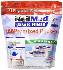 NeilMed SINUS RINSE SACHETS Premixed 100 Packets