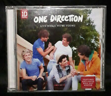 One Direction ‎– Live While We're Young (CD) Australia -Includes Pull Out Poster