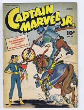Captain Marvel Jr. #36 Fawcett 1946