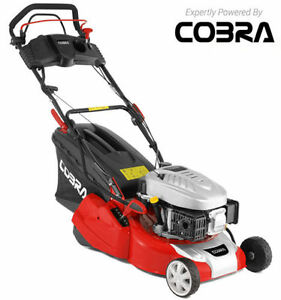 "COBRA RM40SPCE 16"" Electric Start Rear Roller Propelled Lawnmower Lawn Mower NEW"