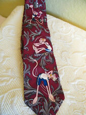 THE PINK PANTHER SILK TIE (GYM DANDY) FUN TO OWN..FUN TO GIVE