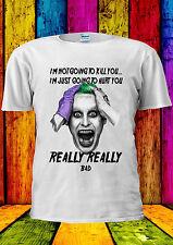I'm Not Kill You Suicide Squad Joker T-shirt Vest Tank Top Men Women Unisex 2286