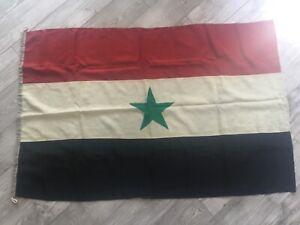 Rare !!!!  Socialist Yemen USSR Flag Navy Fleet Original Wool Soviet