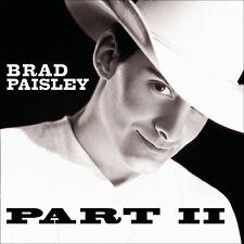 Brad Paisley - Part II / 2 (2001)  CD  NEW/SEALED  SPEEDYPOST