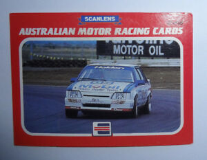 Scanlens 1986 Australian Motor Racing Trading Card - No.42 Peter Brock