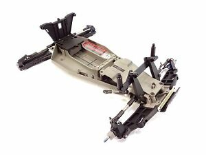 NEW TRAXXAS RUSTLER VXL COMPLETE CHASSIS KIT ROLLER ARM TOWER MAIN FRAME 37076-3