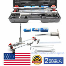 8PCS Mortice Door Fitting Jig Lock Mortiser Allen Key 18/22/25mm Kit + 3 Cutter