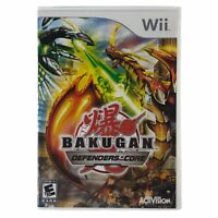 Bakugan: Defenders of the Core (Nintendo Wii, 2010) Complete w/Manual CIB