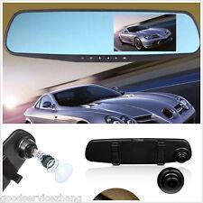 HD 1080P Lens Car Dash Cam Rearview Mirror Camera Backup Video Recorder DVR
