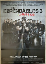 Stallone Schwarzenegger Statham Banderas THE EXPENDABLES 3 Movie Film Poster