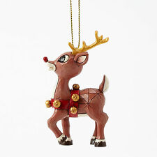 Jim Shore Christmas Rudolph Traditions The Red Nosed Reindeer Ornament 4041651