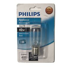 Philips Appliance T8 Light Bulb: 40-Watt, Intermediate Base 40 Watts 400 Lumens