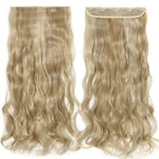 """23/25"""" Multi-color Ombre Hair Full Head Human Clip In Natural Hair Extensions nc"""