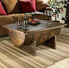 Fass Tisch Couchtisch Massivholz, Fichte Eiche NEU