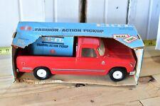 VINTAGE IH INTERNATIONAL HARVESTER 1100 RED PICKUP TRUCK IN BLUE BOX SURVIVOR