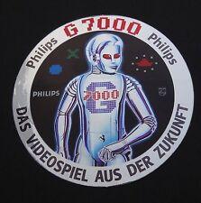 Aufkleber PHILIPS G7000 VIDEOPAC Spielkonsole Sticker 80er Videogames
