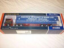CORGI CC12201 Scania curtianside  A. Wishart & son. ltd