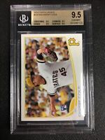 2013 Topps Update Gerrit Cole Yellow Hat BGS 9.5 (True Gem 4 x 9.5) Rookie