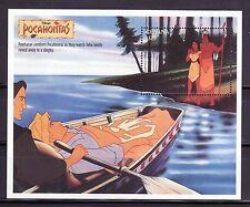 SELLOS TEMA DISNEY. GUYANA HB 211 1995 POCAHONTAS.