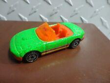Loose Hot Wheels Green Mazda Miata w/Screamin Wheels