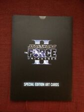 Star Wars The Force Unleashed II Special Edition Art Cards