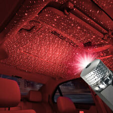 Mini USB LED Car Roof Star Night Lights Projector Light Car Atmosphere Light UK