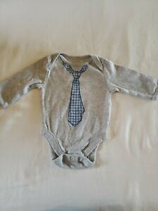 Boys Old Navy 0/3 Months Long Sleeve One Piece