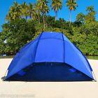 Portable Beach Shelter Sun Shade Canopy Camping Fishing Beach Tent Outdoor Sport